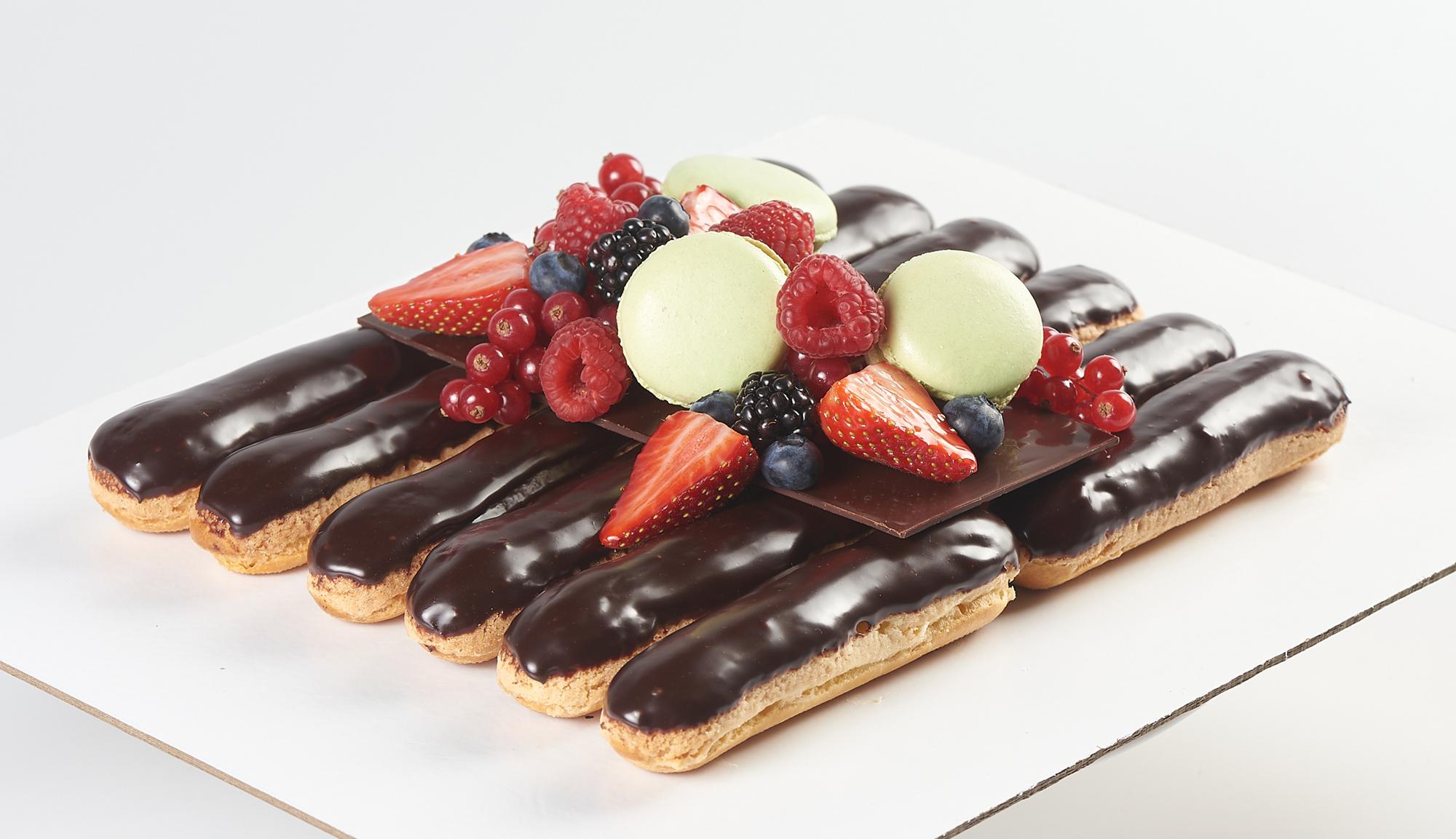 Шаколад-ваниль-ягоды